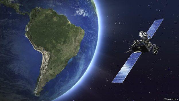 Imagem de satélite orbitando a Terra segundo as agências espaaciais