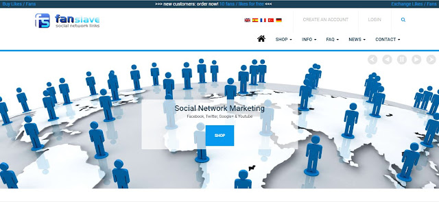 Fanslave - Social Network Marketing