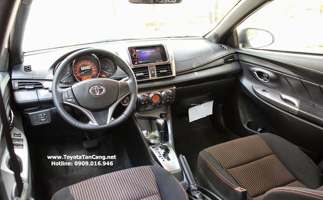 toyota yaris 2014 3 412 - So sánh Ford Fiesta và Toyota Yaris : Ai là Vua xe Hatchback cỡ nhỏ - Muaxegiatot.vn