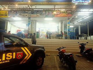 Antisipasi Kejahatan Malam Hari, Personil Polsek Maiwa Polres Enrekang Laksanakan Patroli Malam