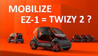 Mobilize EZ-1 : enfin la Renault Twizy 2 ? Décryptage