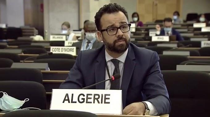 الجزائر تدعو مفوضة الأمم المتحدة لحقوق الإنسان لإستئناف برنامج البعثات التقنية إلى الأراضي الصحراوية المحتلة.