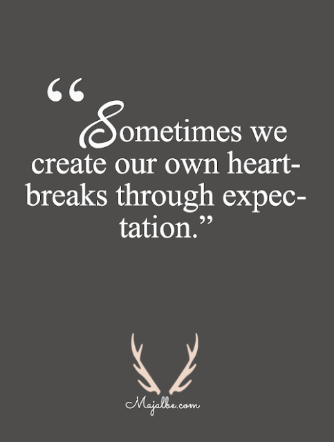 Less Expectation Love Quotes