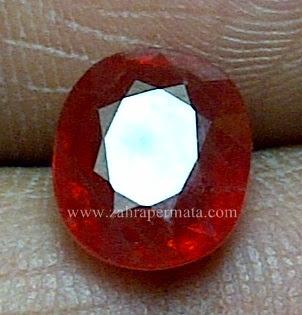 Batu Permata Orange Saphie - ZP 645