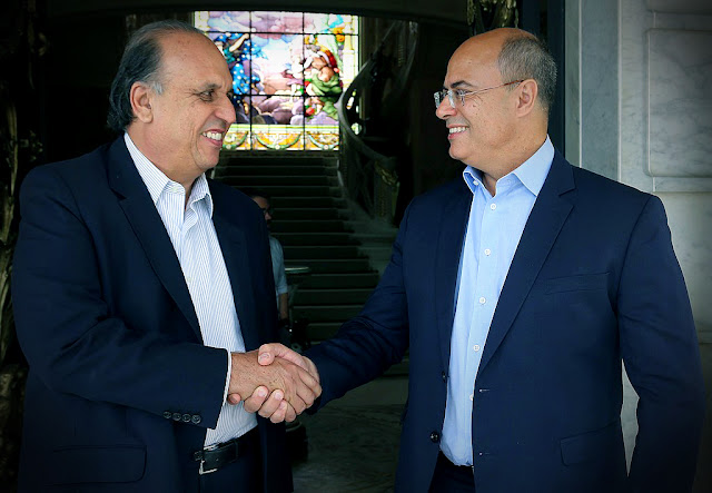 Ex governador Pezão, e Witzel