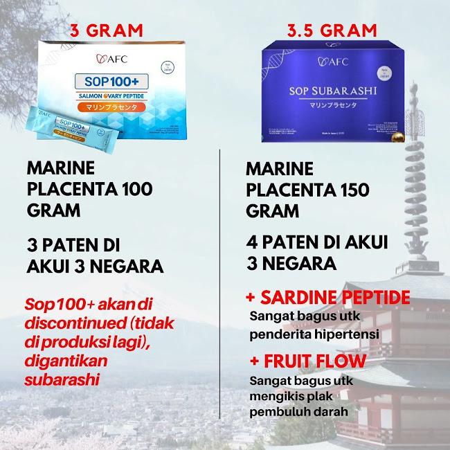 Salmon Ovary Peptide SOP 100+: Tips Pengobatan Plasenta Ikan Salmon yang Murah dan Halal<br/>.