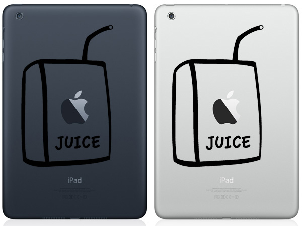 Apple Juice iPad Mini Decals