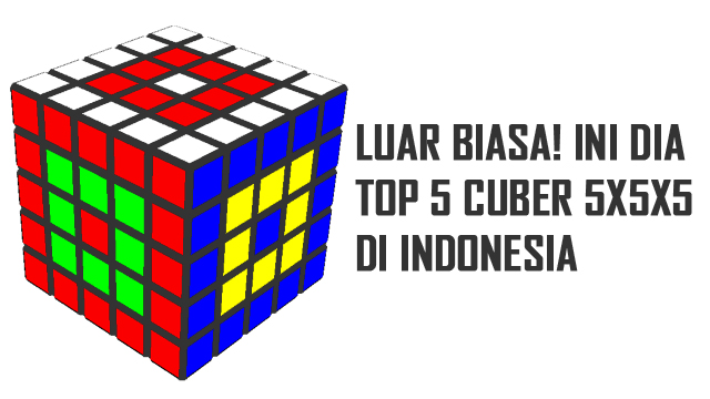 speedcuber 5x5x5 tercepat di Indonesia