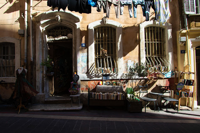Marsiglia-Quartiere le Panier