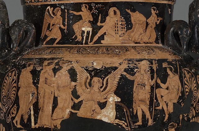 'Dangerous Perfection: Ancient Funerary Vases from Apulia' at the Altes Museum, Berlin