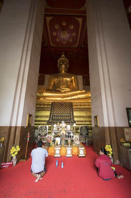 Tempio buddista-Ayutthaya