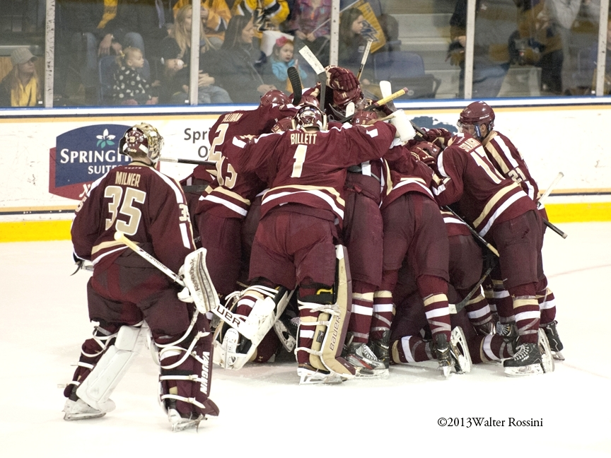 The Boston College Hockey Blog: Eagles Get HUGE win ...