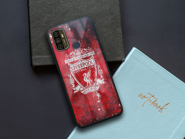 Mockup Glass Case Oppo A53