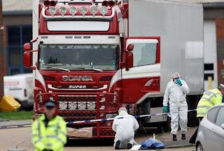Toàn cảnh thảm kịch 39 người nhập cư chết trong thùng lạnh container