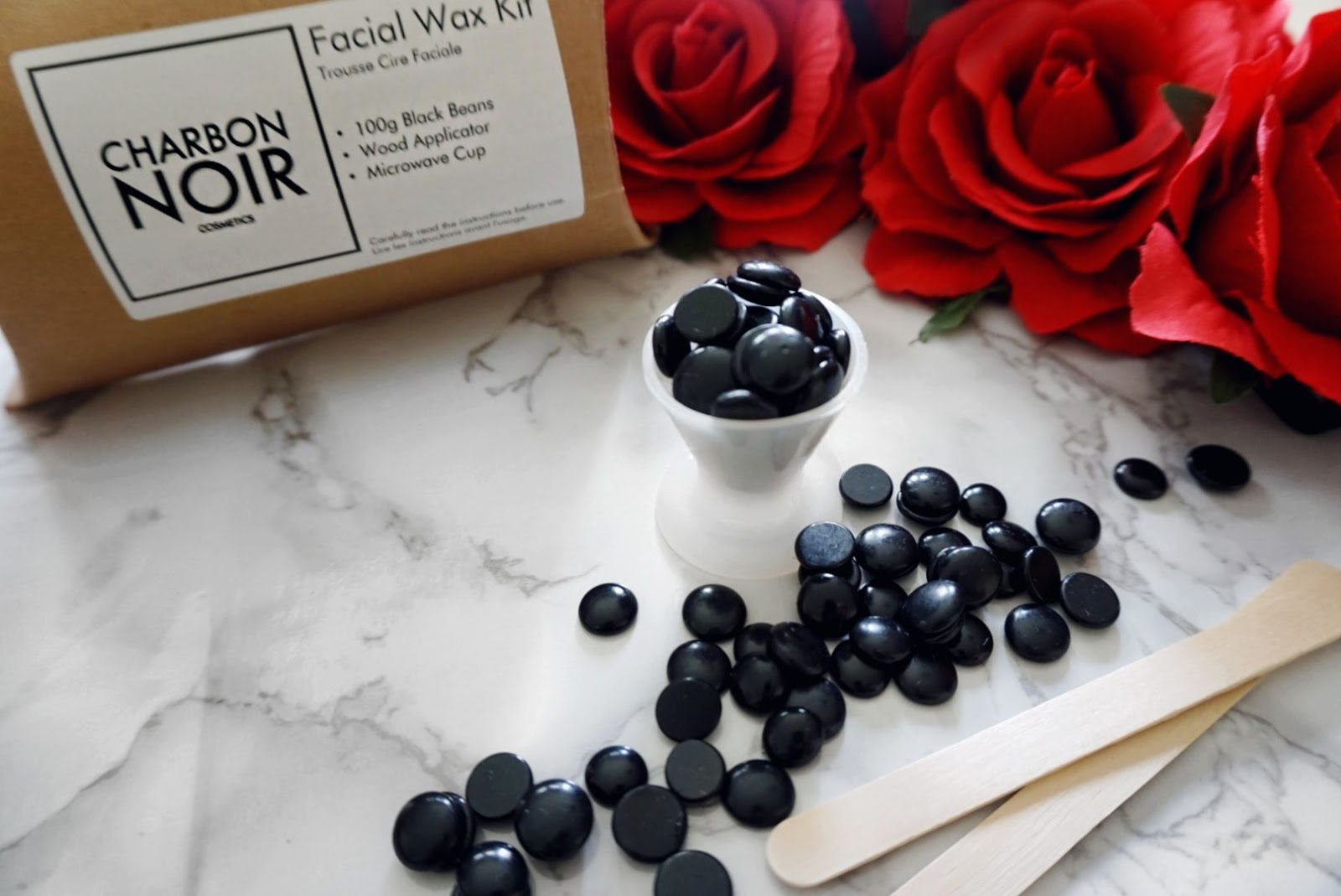 UNWANTED HAIRS BE GONE WITH THE FACIAL CHARBON ACTIVATED WAX KIT CHARBON NOIR COSMETICS