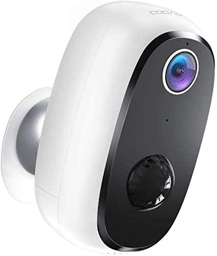 Review COOAU FHD Indoor Outdoor WiFi Security Camera