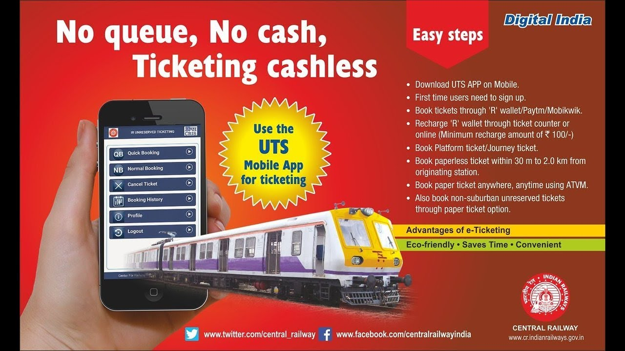 best app for online railway ticket booking