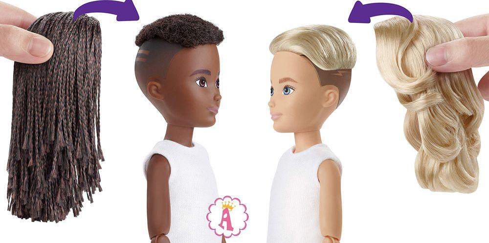 Барби со сменными париками набор сделай куклу сам