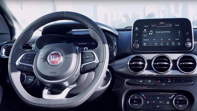 Fiat Argo 1.8 Precision - interior