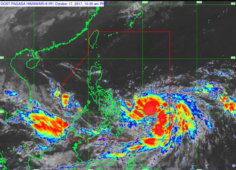 'Bagyong Paolo' PAGASA weather update October 17, 2017