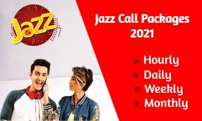 Jazz Call Packages Hourly, Daily, Weekly and Monthly (Updated 2021)