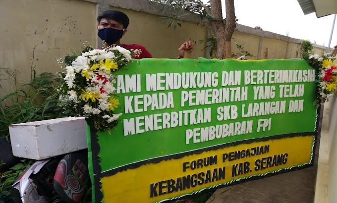 Sejumlah Ormas dan Forum di Kabupaten Serang, Dukung SKB Menteri Tentang Pembubaran Ormas FPI