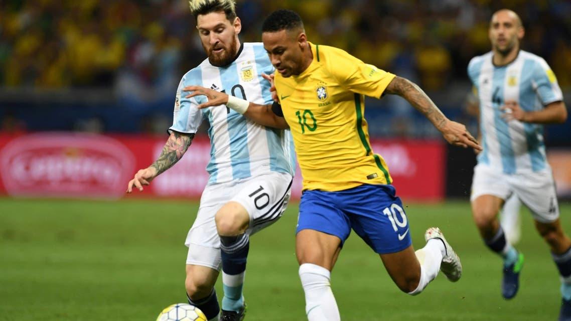 تعرف على موعد مباراة البرازيل ضد  الأرجنتين والقنوات الناقلة لها