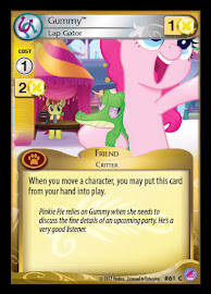 My Little Pony Gummy, Lap Gator Seaquestria and Beyond CCG Card