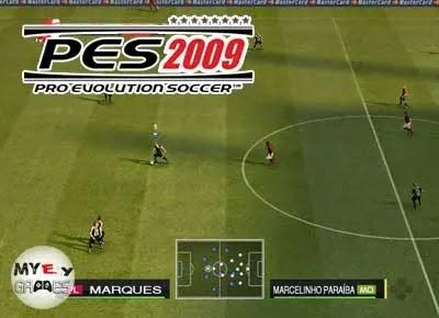 شرح لعبة PES 2009 كاملة برابط واحد مباشر مضغوطة بحجم صغير