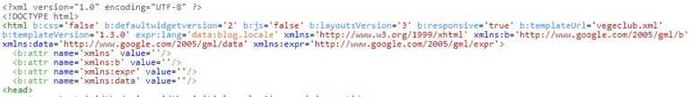 Cách loại bỏ thuộc tính xmlns trong thẻ tag html của template
