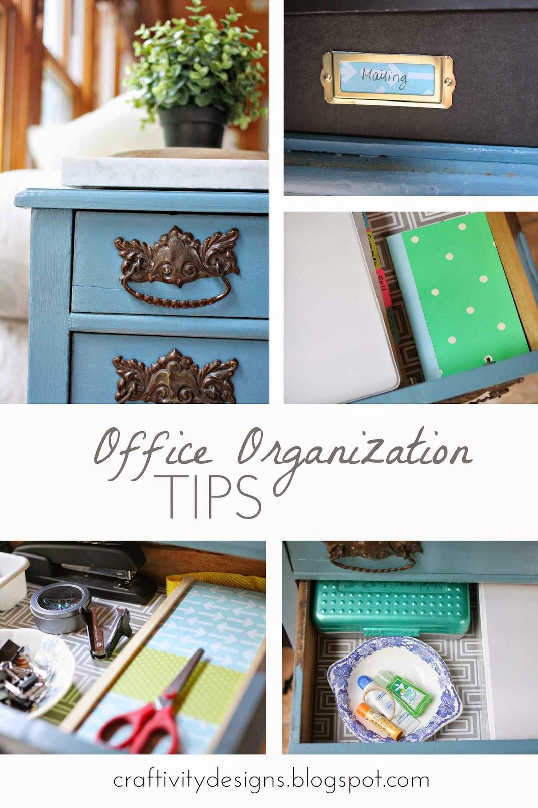So Letu0027s Review A Few Organizational Tipsu2026