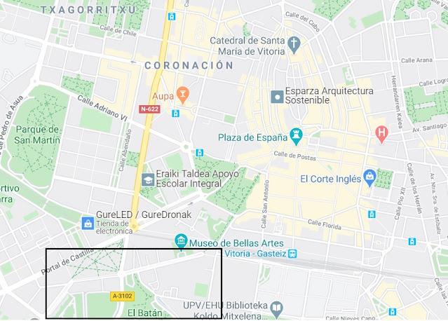 buscar aparcamiento en Vitoria Gasteiz
