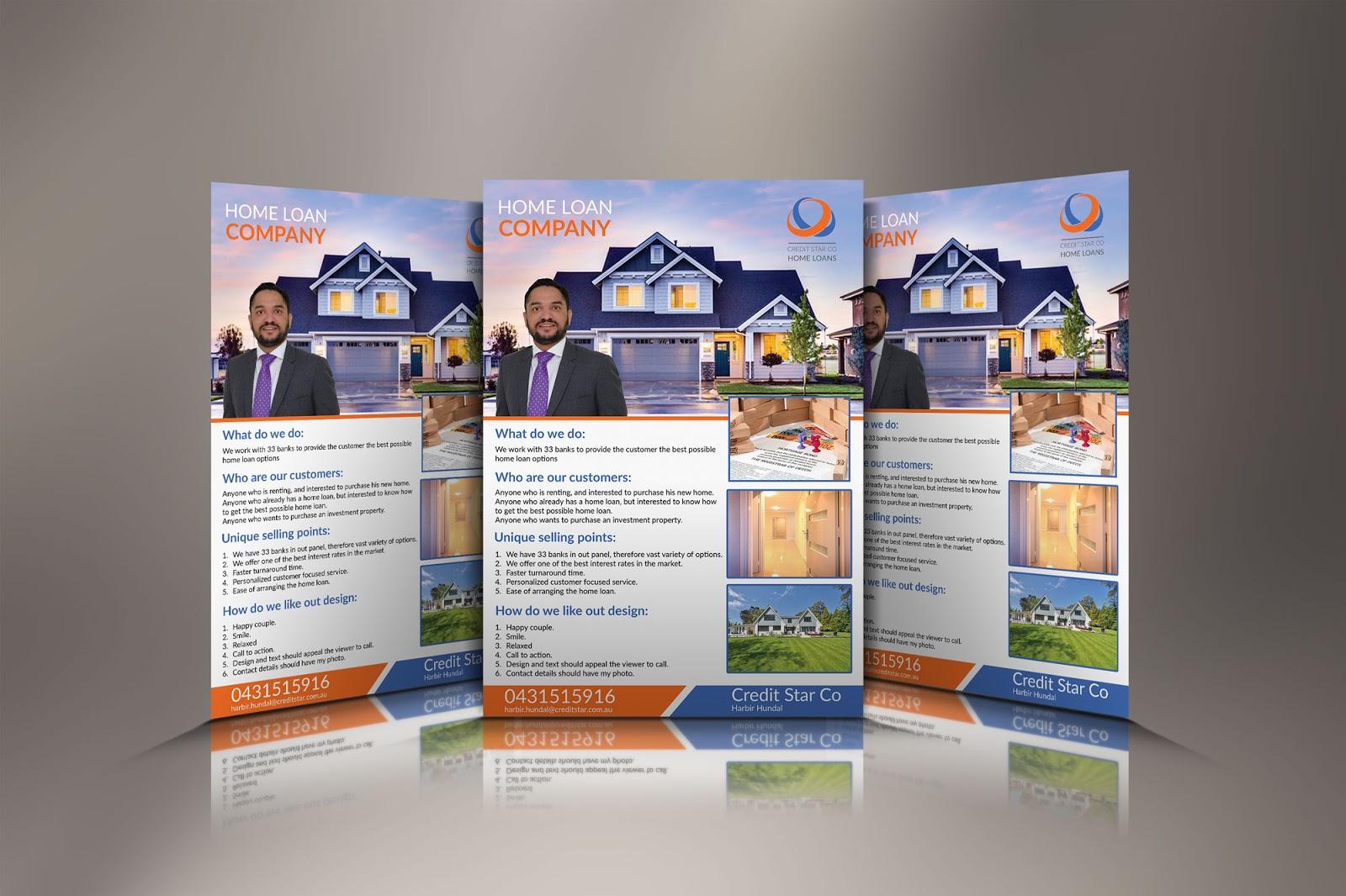 one page flyer design nawab farhana