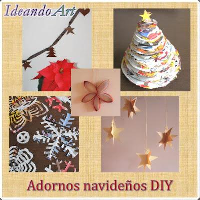 Adornos DIY para Navidad