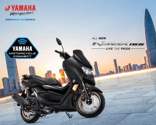 Wisata Touring Liburan Akhir Tahun Makin Mantap dengan Yamaha All New Nmax 155