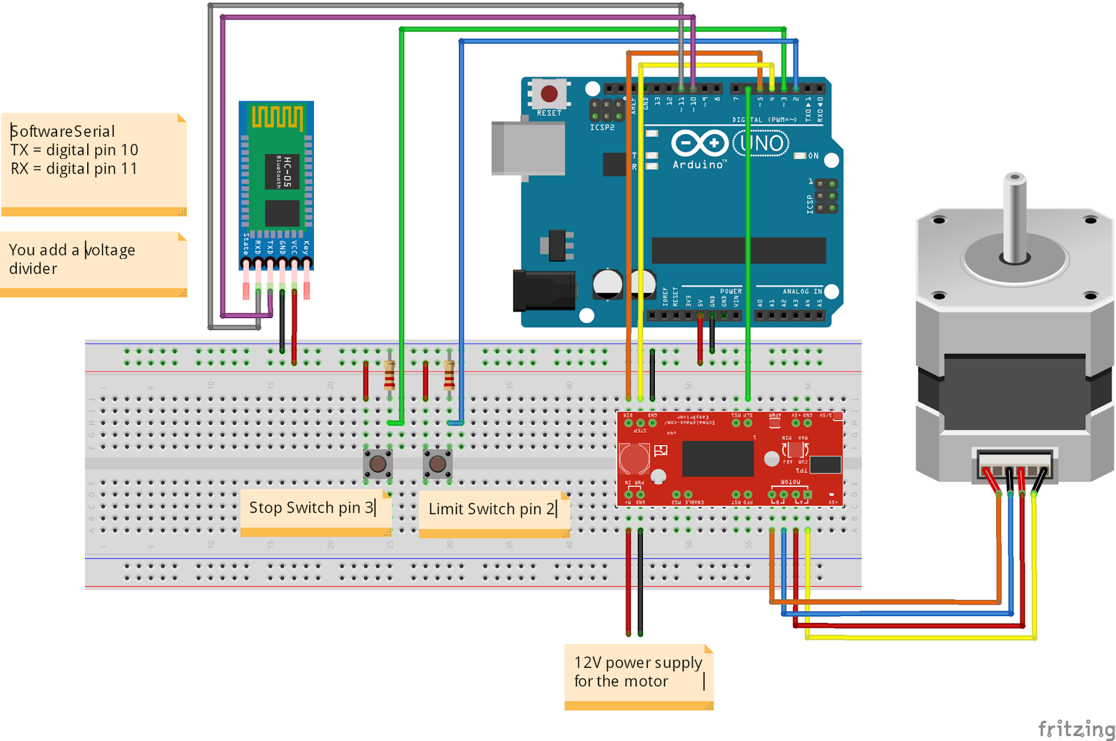 2 - Add the Arduino Control, Scoring, and Light Effects