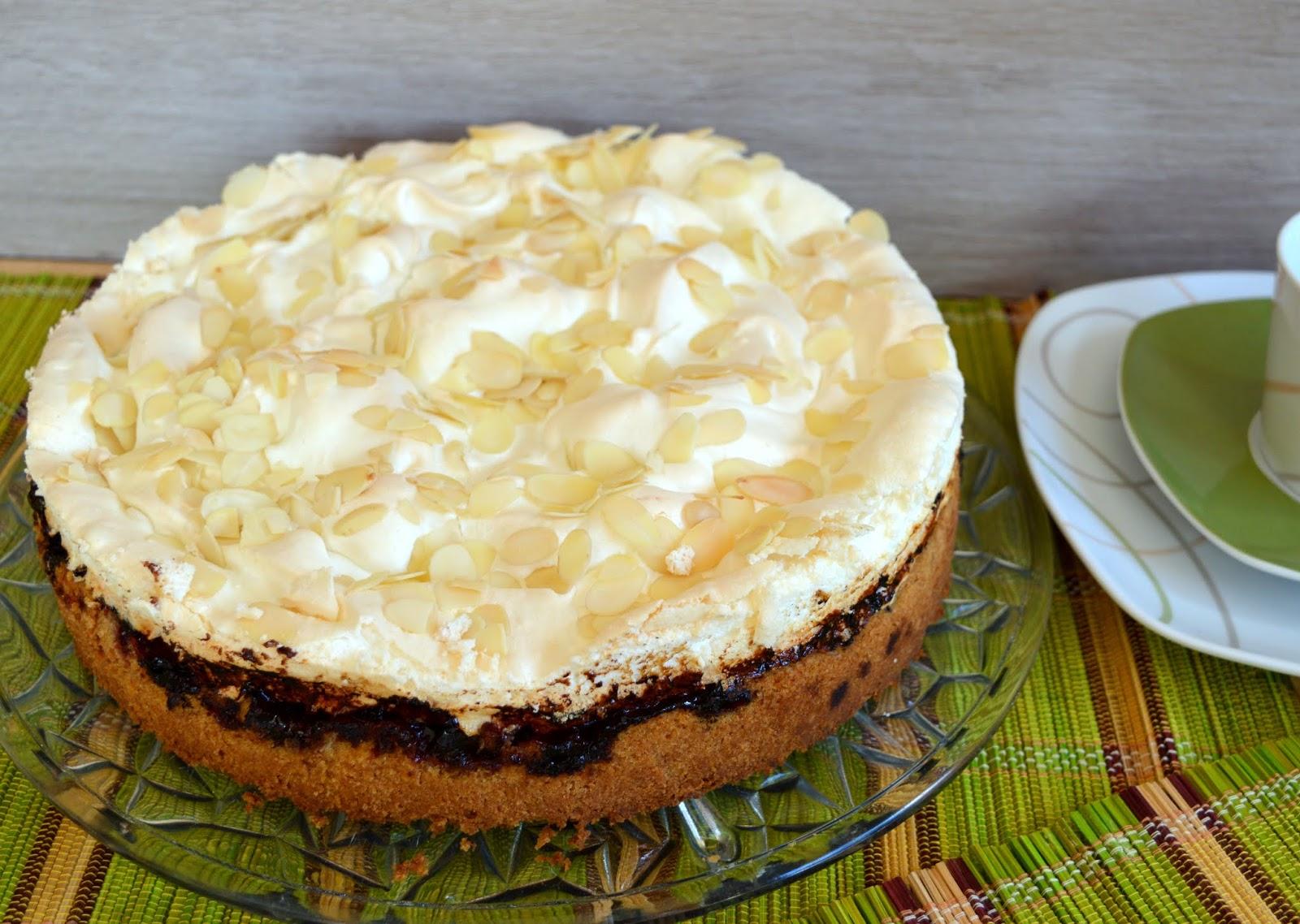 Julias Zuckersusse Kuchenwelt Stachelbeer Baiser Torte