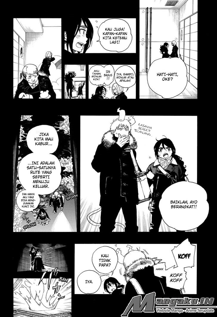 Ao no Exorcist Chapter 108-9
