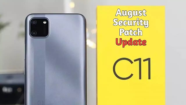 Realme C11 update released with August 2020 security patch.