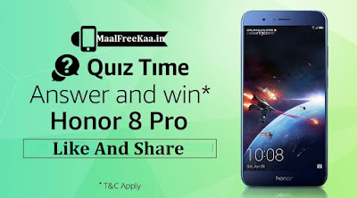 Quiz time Win Honor 8 Pro
