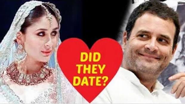 rahul gandhi and kareena kapoor love affairs