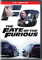Cover image of the Fate of the Furious DVD