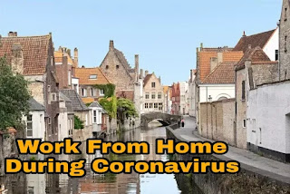 Work from home during Coronavirus