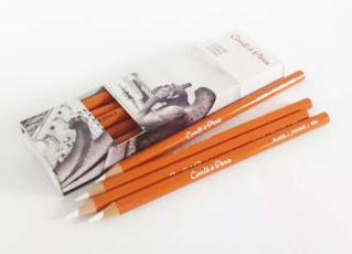 Conte White Pencil