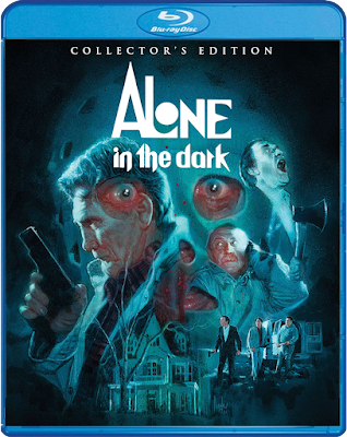 New cover art for Scream Factory's Blu-ray release of Alone in the Dark (1982)!