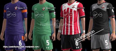 PES 2013 Southampton 2016-2017 GDB by Syirojuddin