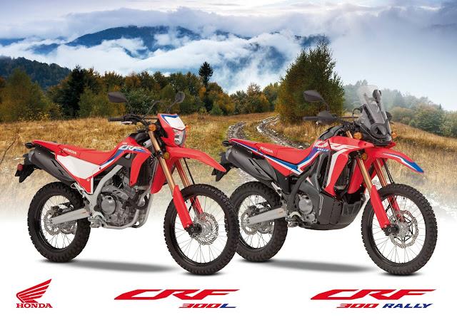 Honda CRF300L & CRF300 Rally