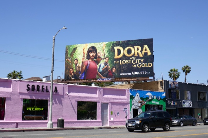 Dora and the Lost City of Gold billboard