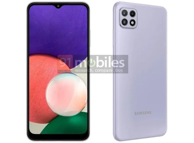 galaxy-a22-5g-4g-specs-first-cheap-5g-mobile-for-samsung