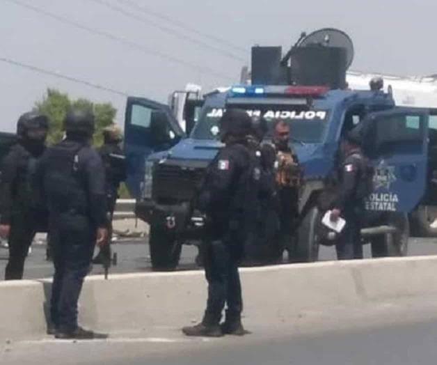 Se enfrentan Estatales y Sicarios en libramiento de Río Bravo, Tamaulipas